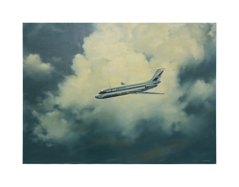 2-robert-grant-smith-mcdonnell-douglas-aircraft-oil-painting