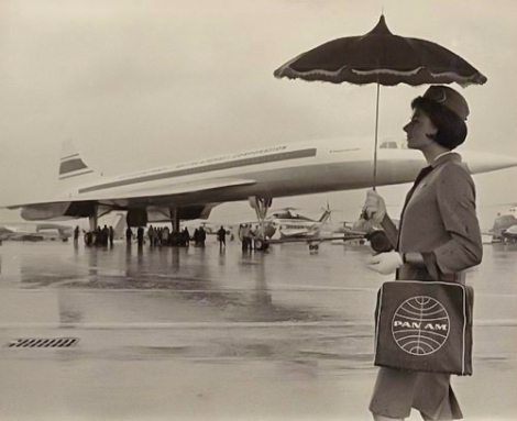 concorde in the rain AMOEN March 2018